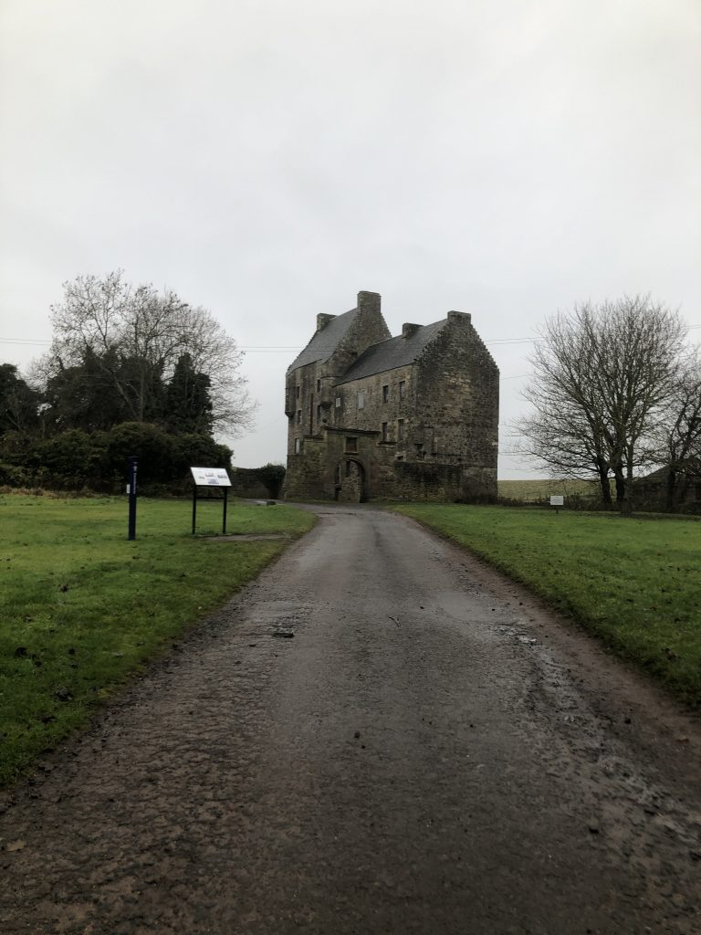 Approaching The Midhope Castle aka Lallybroch